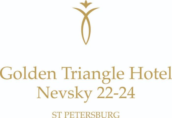 Логотип Golden Triangle Hotel, бутик-отель